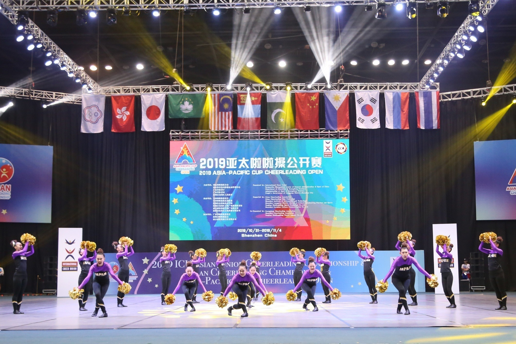 ICUアジアチアリーディング選手権大会/ICUアジアジュニアチアリーディング選手権大会/アジアパシフィックカップチアリーディングオープン