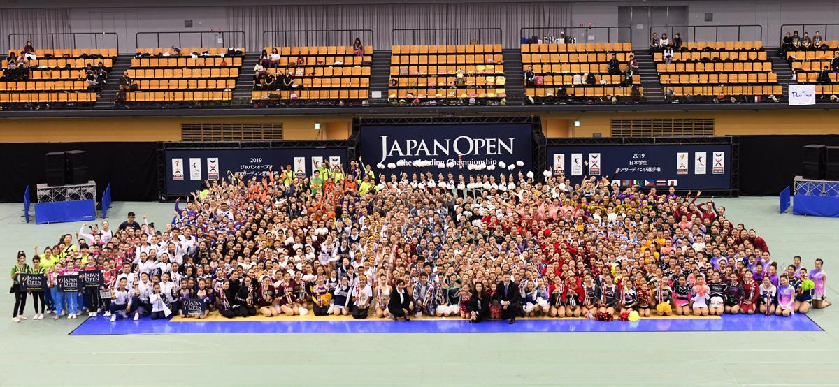 2019ジャパンオープンチアリーディング選手権・2019日本学生チアリーディング選手権